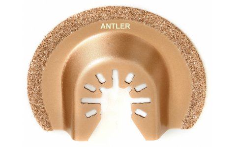 Antler QAB63CD 63mm Carbide Blade Compatible with Dewalt Stanley Worx Erbauer Oscillating Multitool
